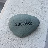 Sucess Engraved Stone Beach Pebble River Rock Unique Gift Ideas for Business