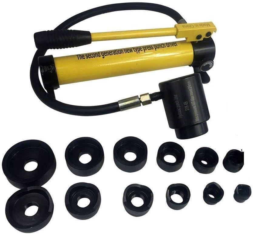 Outils Hydrauliques De Poin/çon De Perforation De Poin/çon De 10T Hydrauliczne 22-60 mm