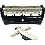 Replacement Shaver Foil/Cutter Unit Shaver Head Compatible for Philips QC5550 QC5580 Rotary Blades for mmer Razor accessories
