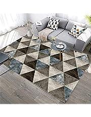Laagpolig tapijt meisjes kamer accessoires kinderen tapijt driehoek geometrisch patroon korte stapel tapijt, haarheid ontwerp decor voor woonkamer buiten tapijten voor tuin