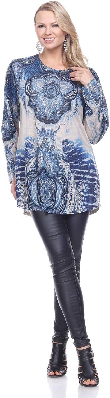 Shoreline Full Sleeves Printed Fall Tunics
