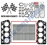 """Duramax LB7 Head gasket set with head bolts - types """"B or C"""""""