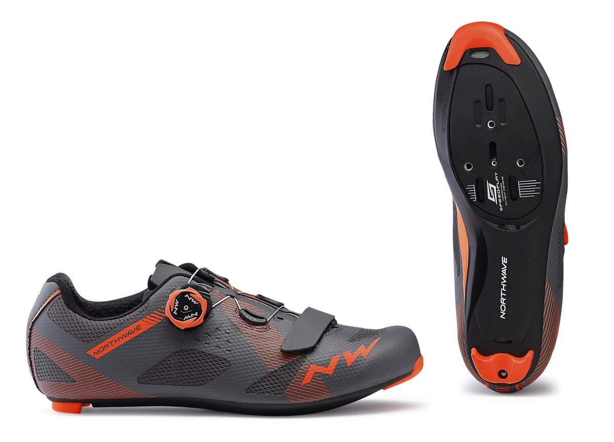 Northwave Storm Rennrad Fahrrad Schuhe grau Orange 2019 2019 2019 9afeac