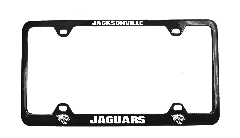 NFL Jacksonville Jaguars Laser License Plate Frame Team Color Fremont Die Inc 91936