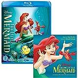 The Little Mermaid - Walt Disney Movie and Soundtrack Bundling - Blu-ray and CD