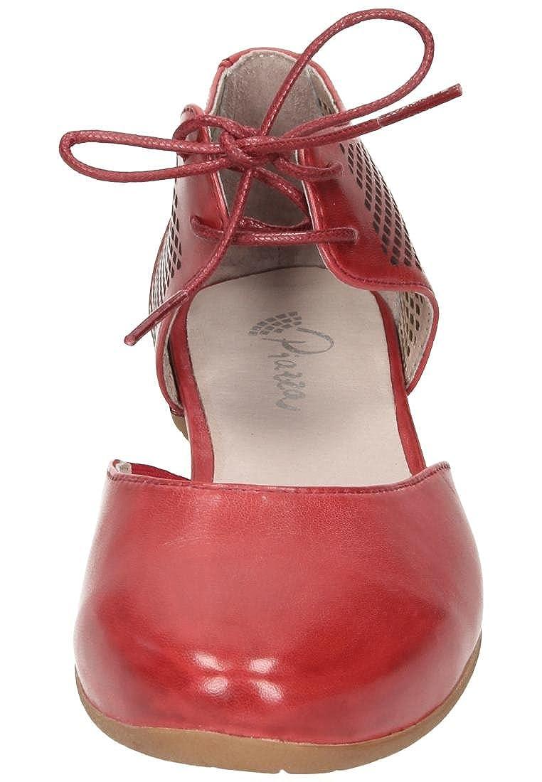 Piazza Womens-Slipper Rot 840760-4