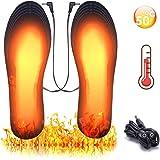 Beheizbare Einlegesohlen Thermosohlen Beheizbare Thermosohle Funxim Fu/ßw/ärmer W/ärmesohle,Sohlenw/ärmer,Schuhheizung