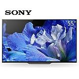 Sony 索尼 KD-55A8F 2018新款 OLED 4K安卓智能网络液晶平板电视(亚马逊自营商品, 由供应商配送),赠品:价值1199元Sharp夏普洗衣棒