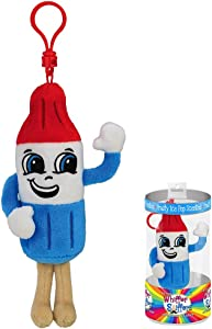 Whiffer Sniffers Apollo Freeze Fruity Ice Pop Scented Backpack Clip, 4.5""