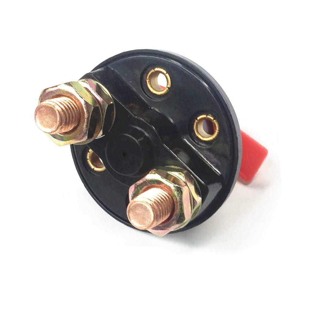 Type K 1 St/ück Qiorange 12V//200A Automatische Sicherung Schalter f/ür Auto Kfz LKW Boot