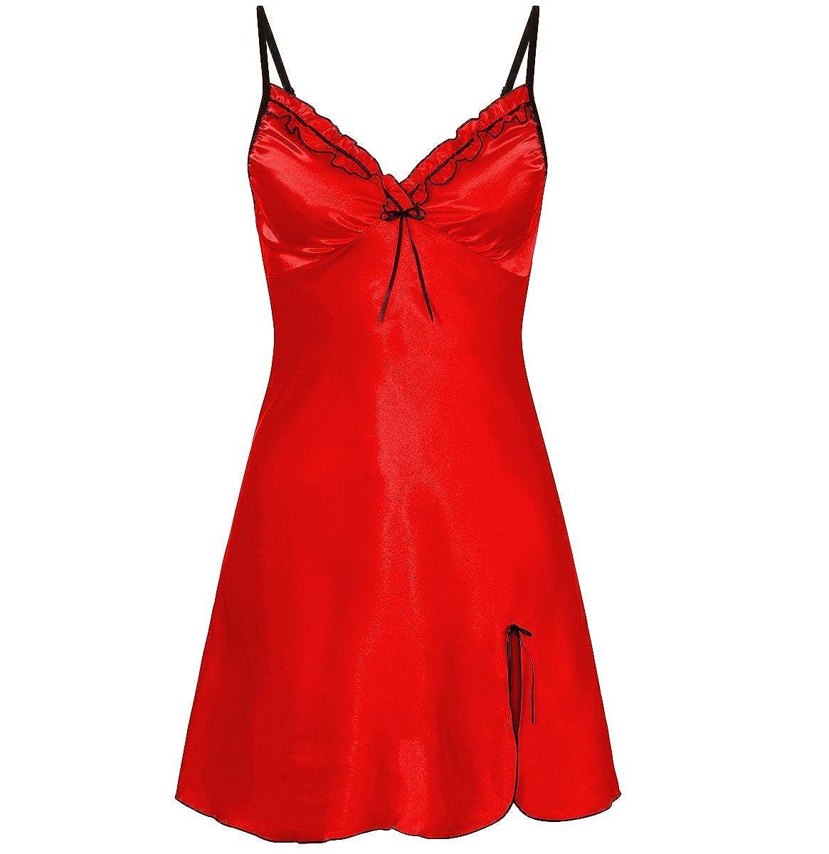 Nine X Satin Babydoll Plus Size Chemise 10-24, Lingerie, Sleepwear