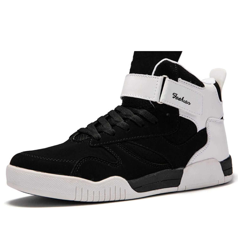 Amazon.com | Shoes Men Sneakers Justin Bieber Men Boots Superstar Hip Hop Shoes Men High Top Shoes Men Casual Shoes | Shoes