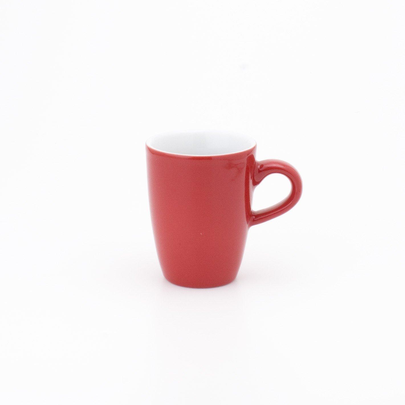 hoch PRONTO COLORE H.Nr. 574732A60005C 0,10 l rot KAHLA Espresso-Obertasse