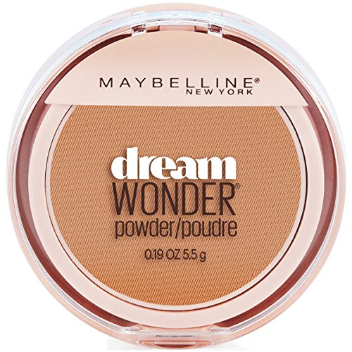 (Maybelline New York Dream Wonder Powder Makeup, Honey Beige, 0.19)
