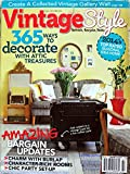 Vintage Style by Country Almanac Magazine #184 Fall/Winter 2014