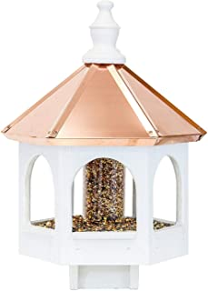product image for Saving Shepherd 20 Inch Copper TOP Bird Feeder - 14 in. Gazebo Amish Handcrafted in Lancaster Pennsylvania USA
