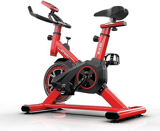 YMXLXL F-Bike, Bicicleta EstáTica con Sensores De Pulso De Mano, con/Sin Respaldo, Plegable, Unisex,Red: Amazon.es: Hogar
