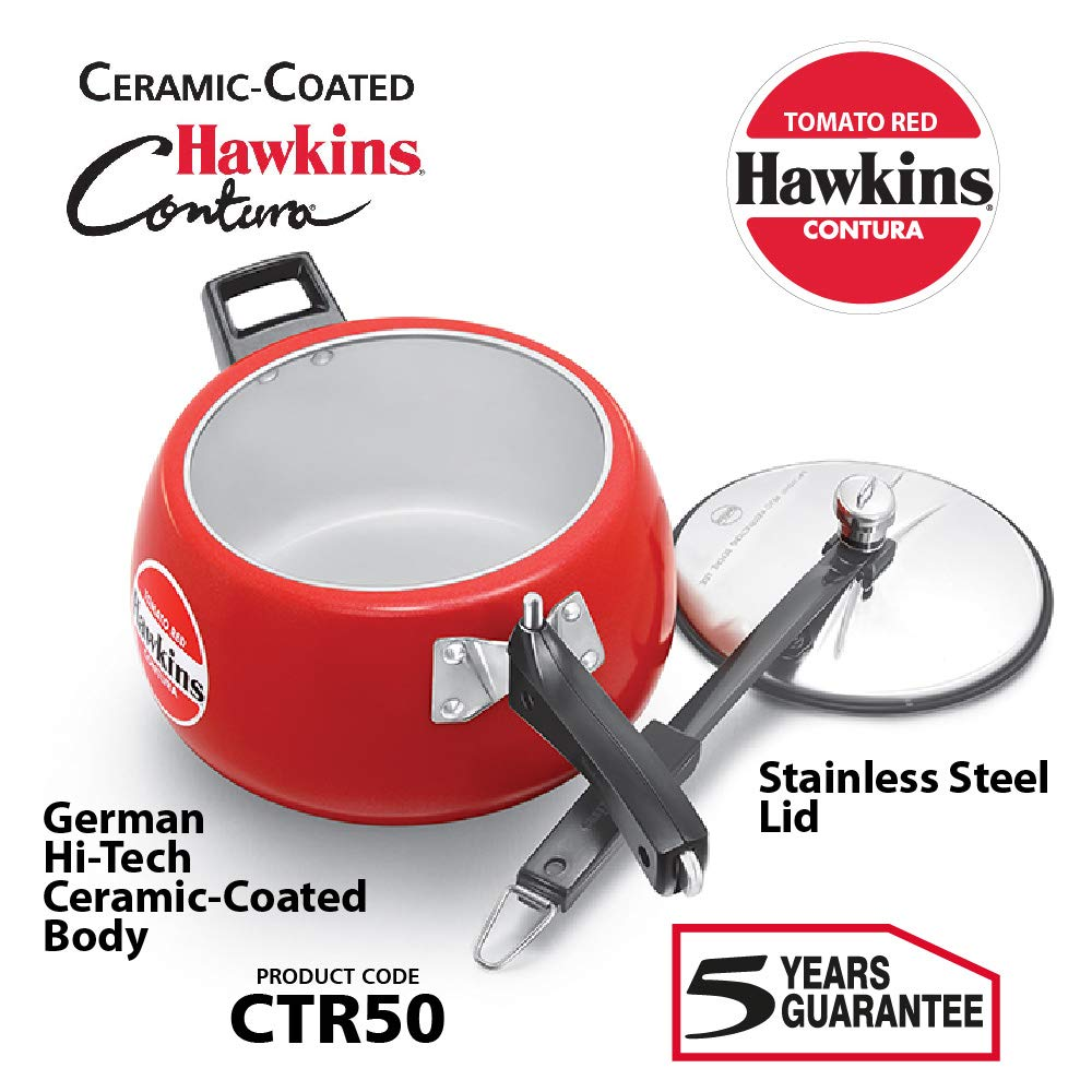 Apple Green Hawkins CAG50 Contura Pressure Cooker 5 L