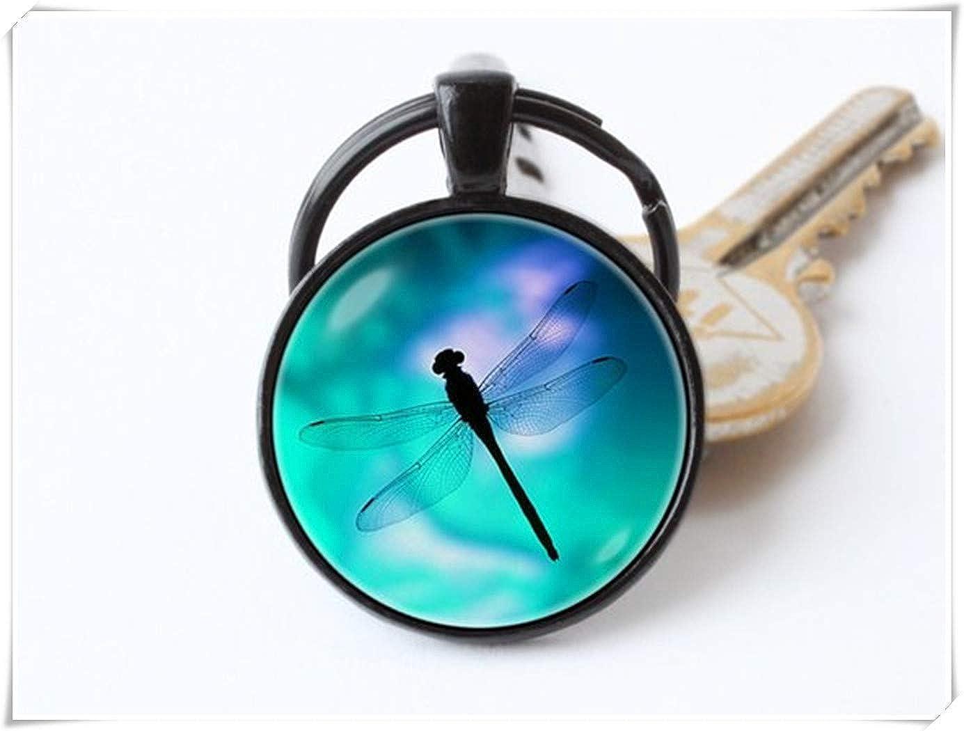 Llavero con diseño de libélula de la Familia de Forever ...