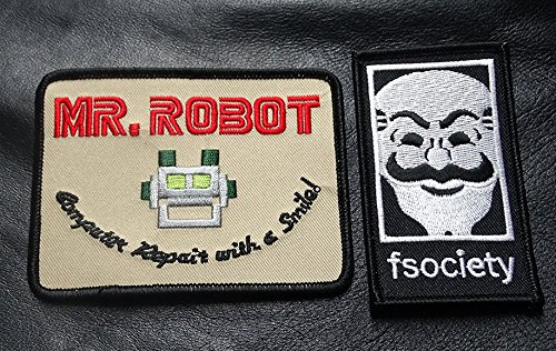 MR ROBOT FSOCIETY TV SHOW Costume 2 PC -