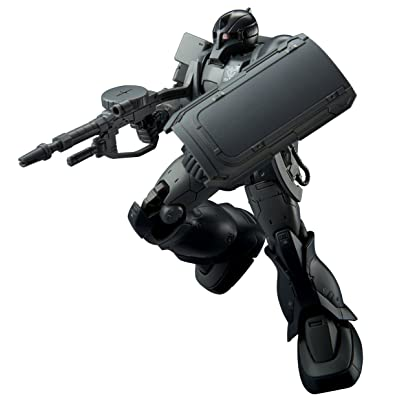 Bandai HG The Origin 1/144 Zaku I (Kycilia's Forces) Model Kit(Japan Import): Toys & Games