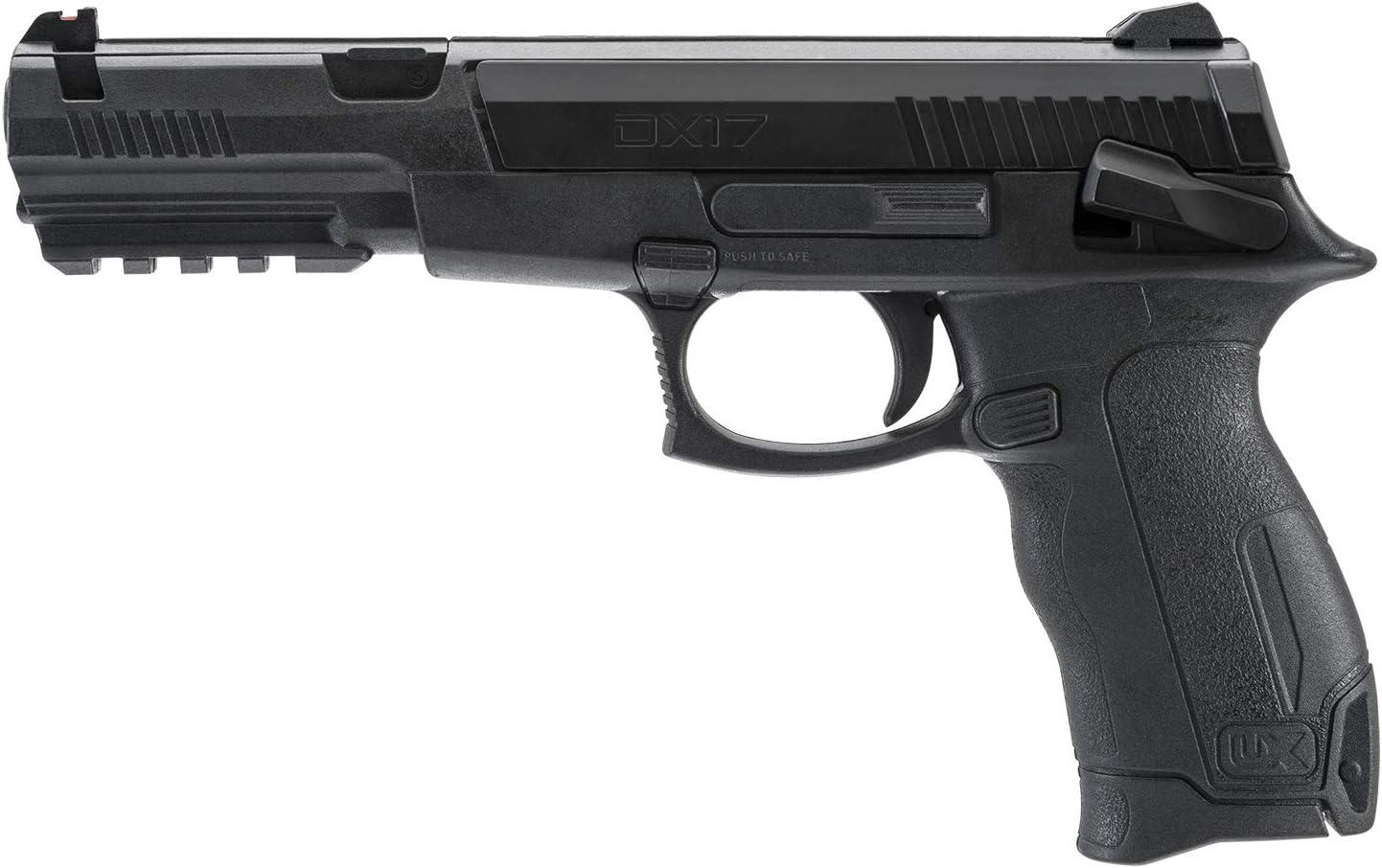 Umarex 2230030 DX17 .177 Caliber BB Gun Air Pistol - Includes 200 Steel BBs, Black : Sports & Outdoors