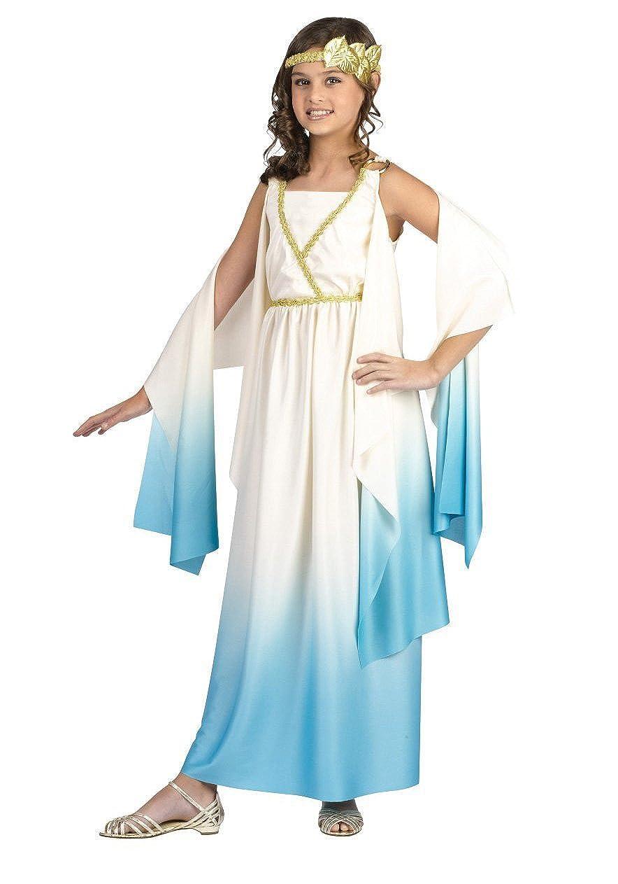 Amazon.com: Diosa griega Costume: Romano Chica del Niño ...