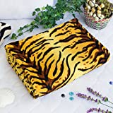 [Animal Tiger] Coral Fleece Throw Blanket (59.1 by 78.7 inches)