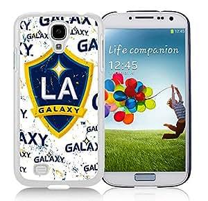 Fashionable And Antiskid Designed MLS Los Angeles Galaxy Samsung Galaxy S4 I9500 i337 M919 i545 r970 l720 Case Cover 14 White