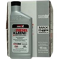 Power Service Diesel Kleen + Cetane Boost - 9/16oz. Bottles