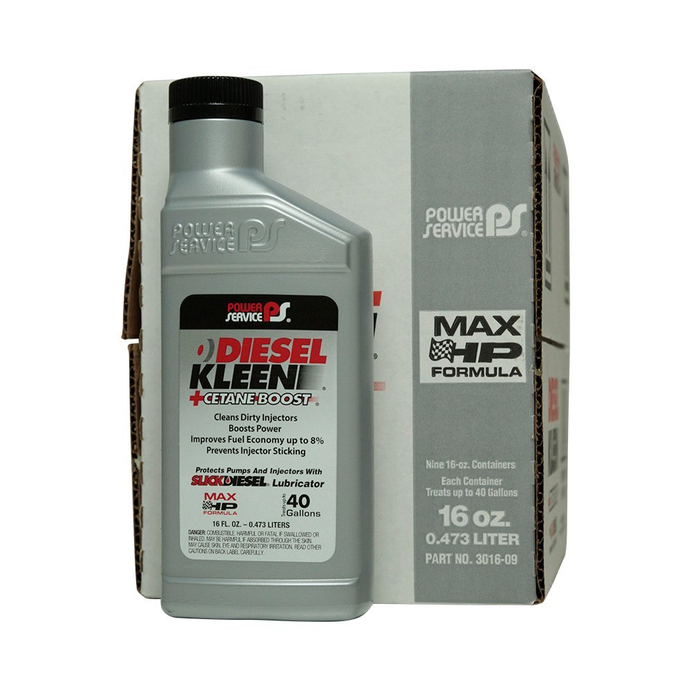 Power Service Diesel Kleen + Cetane Boost - 9/16oz. Bottles
