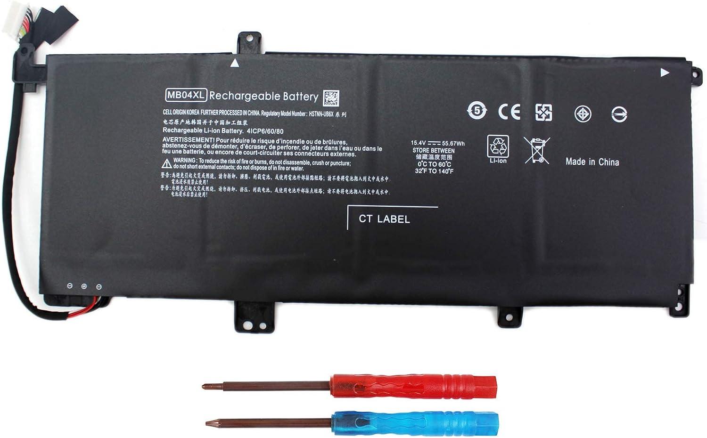 Angwel MB04XL Laptop Battery for HP Envy X360 M6-AQ000 M6-AQ003DX M6-AQ005DX M6-AQ103DX M6-AQ105DX M6-AR004DX Convertible PC 15 15-AQ005NA 15-AQ101NG AQ015NR HSTNN-UB6X Series[15.4V 55.67Wh]