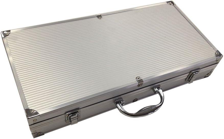 in alluminio colore: Argento Set di utensili per barbecue Sotech