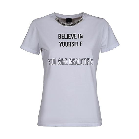 Pinko T-Shirt Daphne  Amazon.it  Abbigliamento 8e99e05ce79