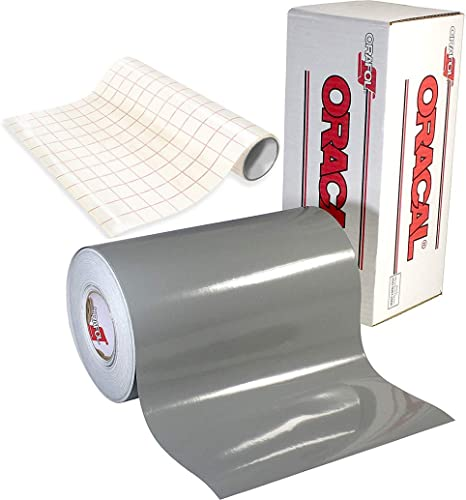 Oracal 12 Roll Clear Transfer Tape w//Grid for Adhesive Vinyl Vinyl Transfer Tape for Cricut Cameo Application Paper Transfer Tape Rolls 12 x 15ft Silhouette