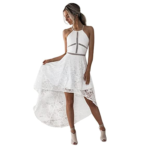 Vestidos de Mujer Elegantes 2018,Venmo Mujer sin Mangas Formales Baile Fiesta de Dama de