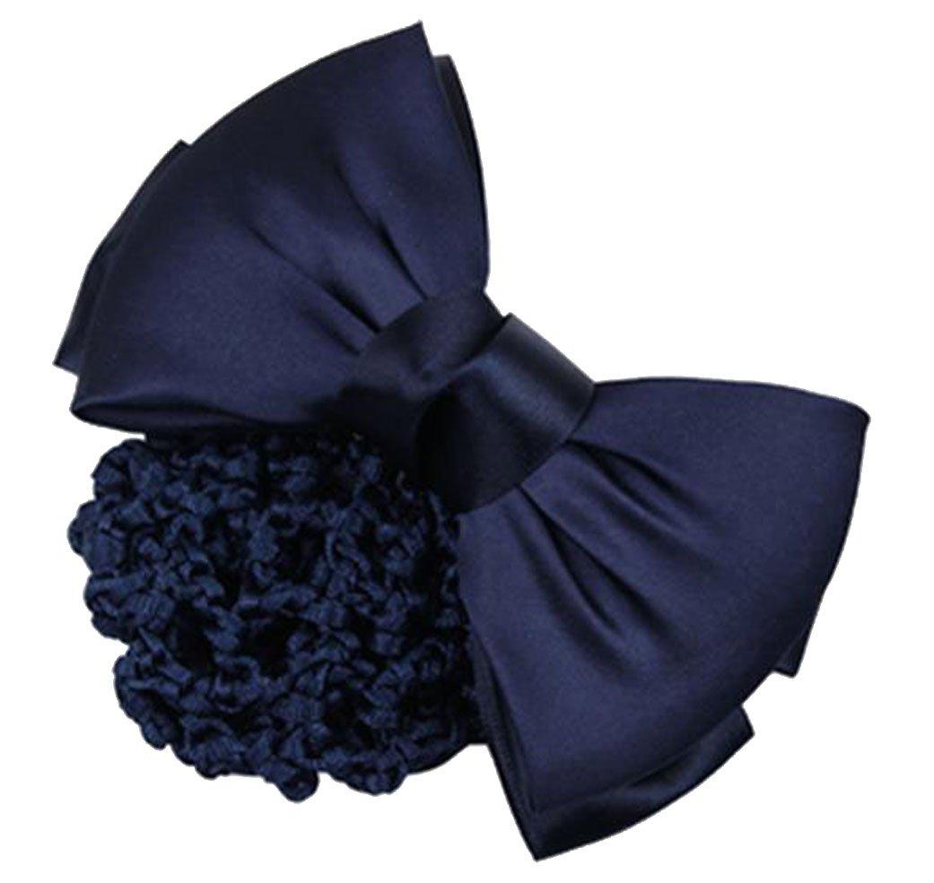 niceeshop(TM) Pince à Cheveux / Barrette à Cheveux de Noeud Papillon pour Femmes (Bleu)
