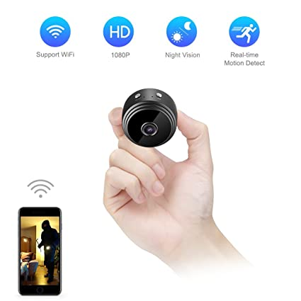 Amazon Com Mini Spy Camera Wifi Hidden Camera Todayi Wireless Hd