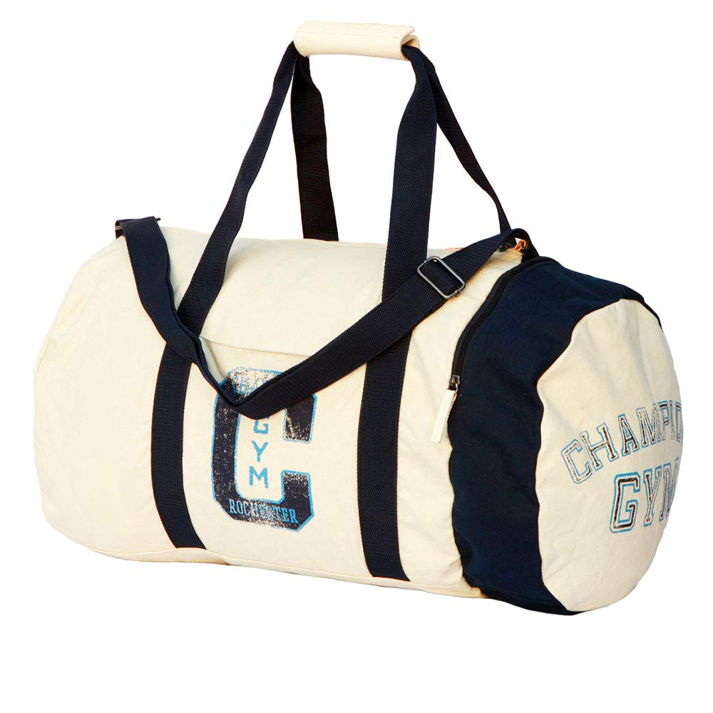 Ybriefbag Unisex Canvas Casual Sports Messenger Messenger Bag Personalized Trendy Fitness Bag Vacation Color : Beige