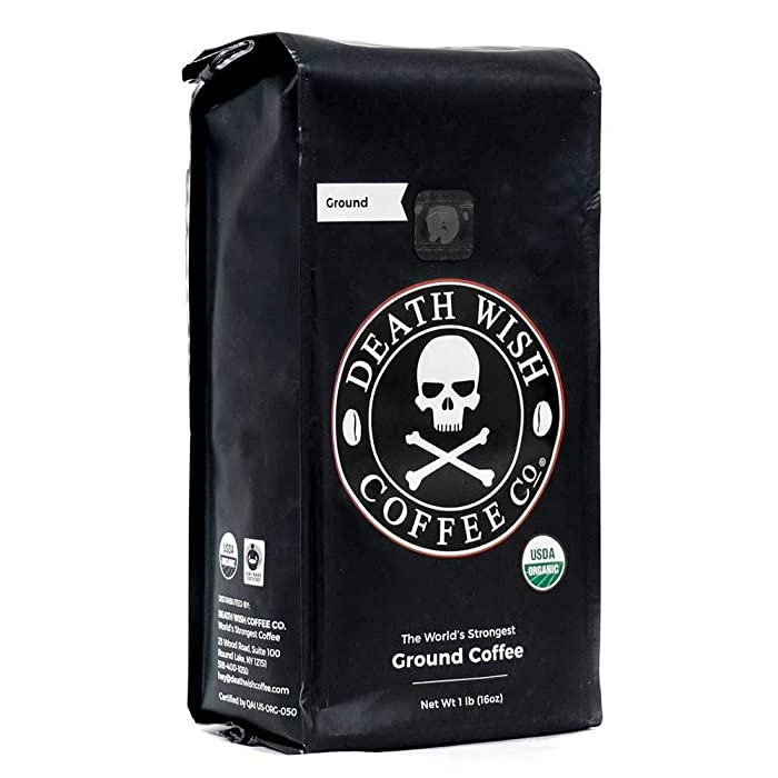 Death Wish Coffee Company Ground Coffee