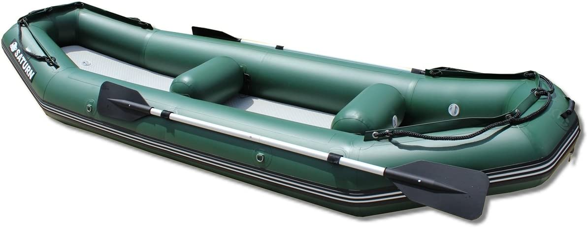 Amazon.com: Saturn 12 ft Luz Río Raft/Ducky Barco, Verde ...