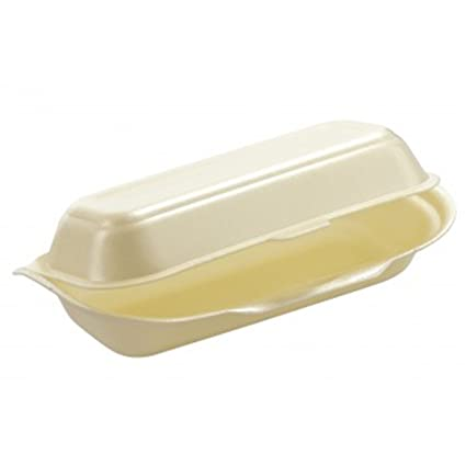 Pick d Pack - Caja porex hot dog 200 x 83 x 64 mm