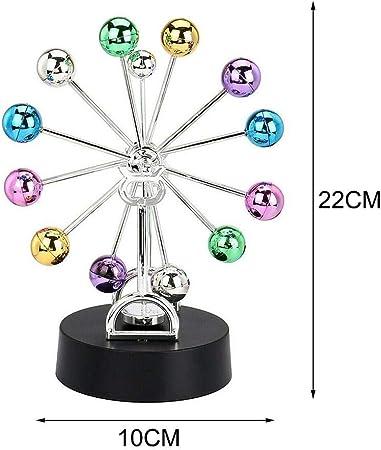 rotella di ferris rotante equilibrio palla movimento perpetuo fisica