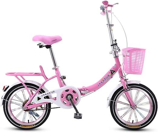 Bicicletas Triciclos Plegable para Niños De Color Rosa Niña De 20 ...