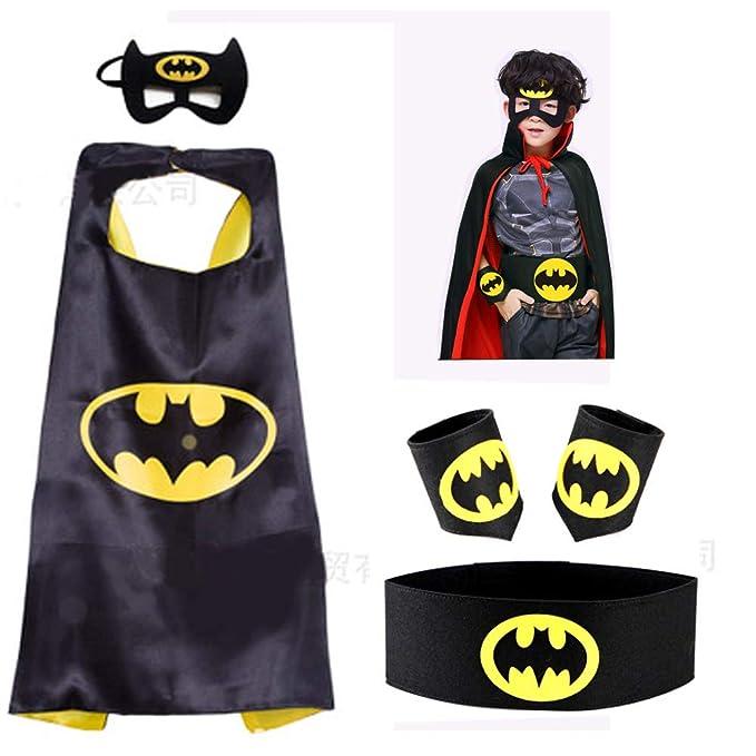 Amazon.com: Asgift Comics - Juego de disfraz de Batman y ...