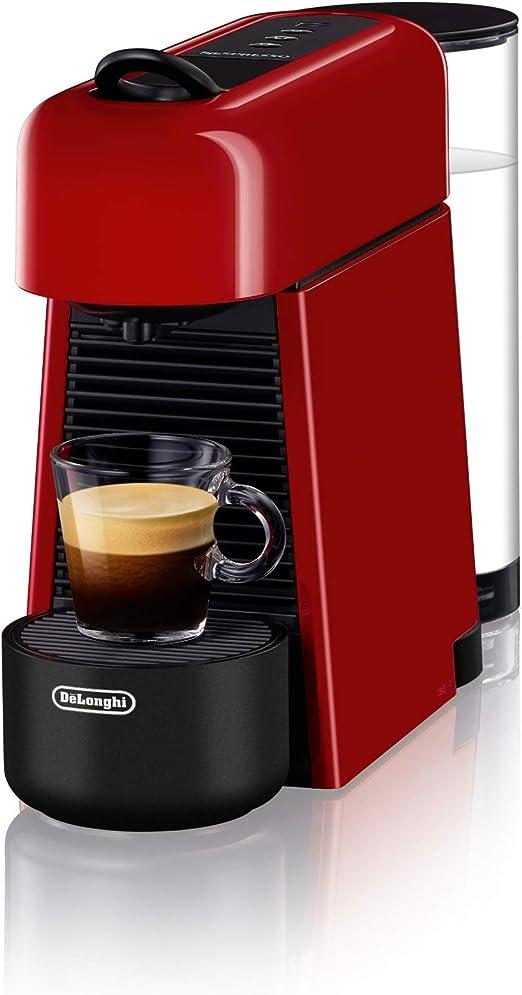 DeLonghi Nespresso Essenza Plus máquina de espresso roja: Amazon ...