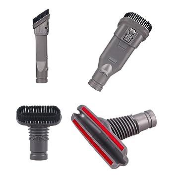 Tekehom 4 Stück Home Reinigung Werkzeug Set Vakuum Zubehör Für Dyson
