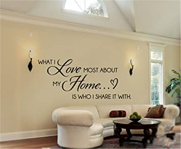 Amazon Com Yeyekyt Wall Decal Stickers Quotes Saying And Words Diy