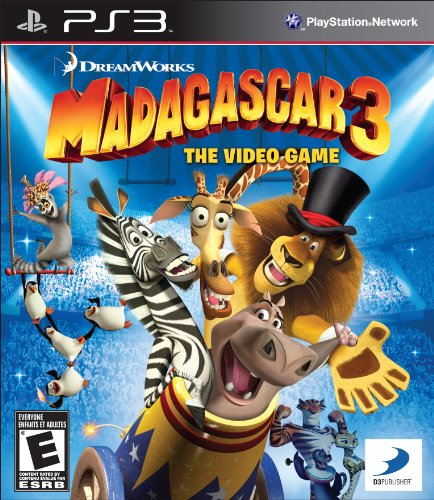 Madagascar 3: The Video Game – Playstation 3
