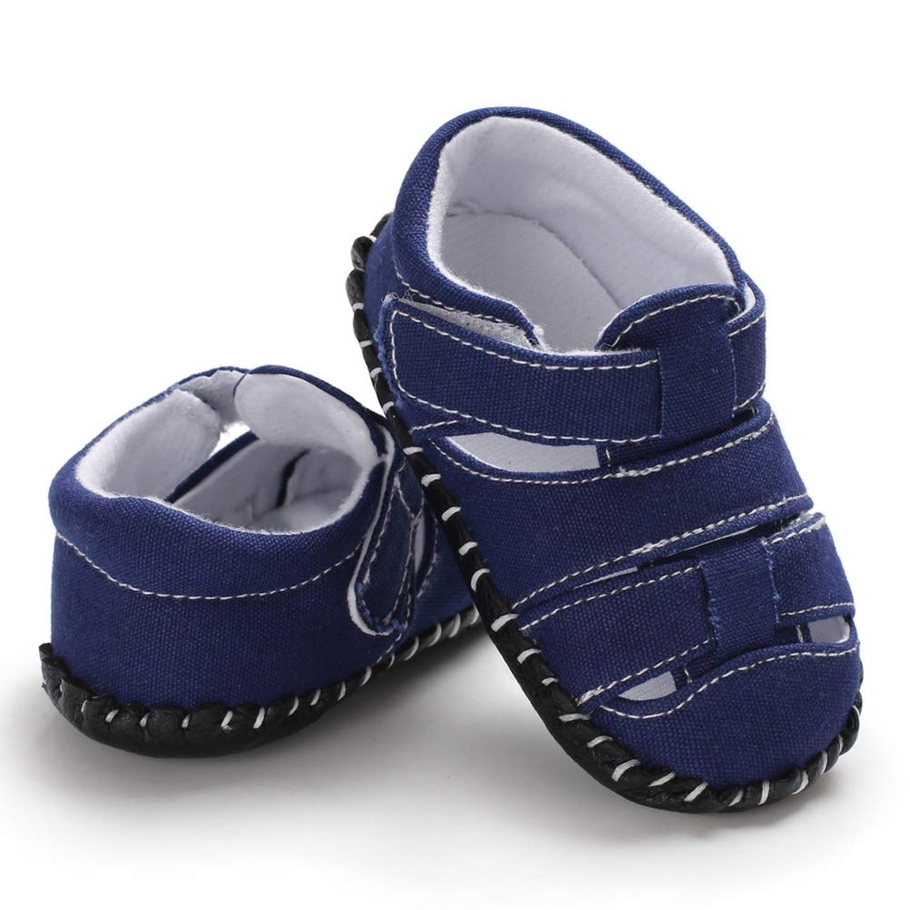 Kidoll Summer Baby Boys Breathable Anti-Slip Hollow Design Shoes Sandals Toddler Soft Soled First Walkers